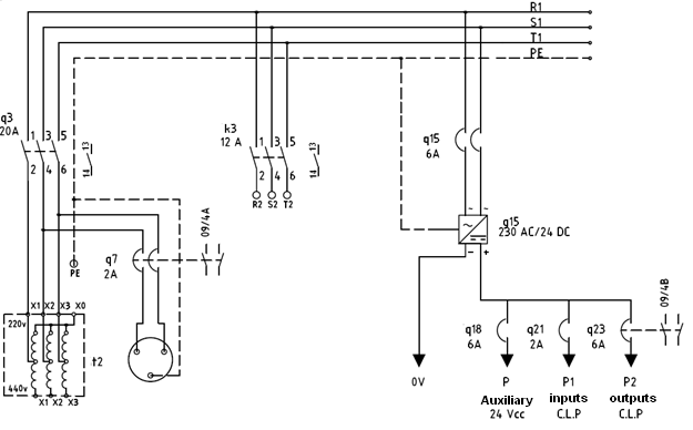 types of drawings (electrical) - control real english, Wiring electric