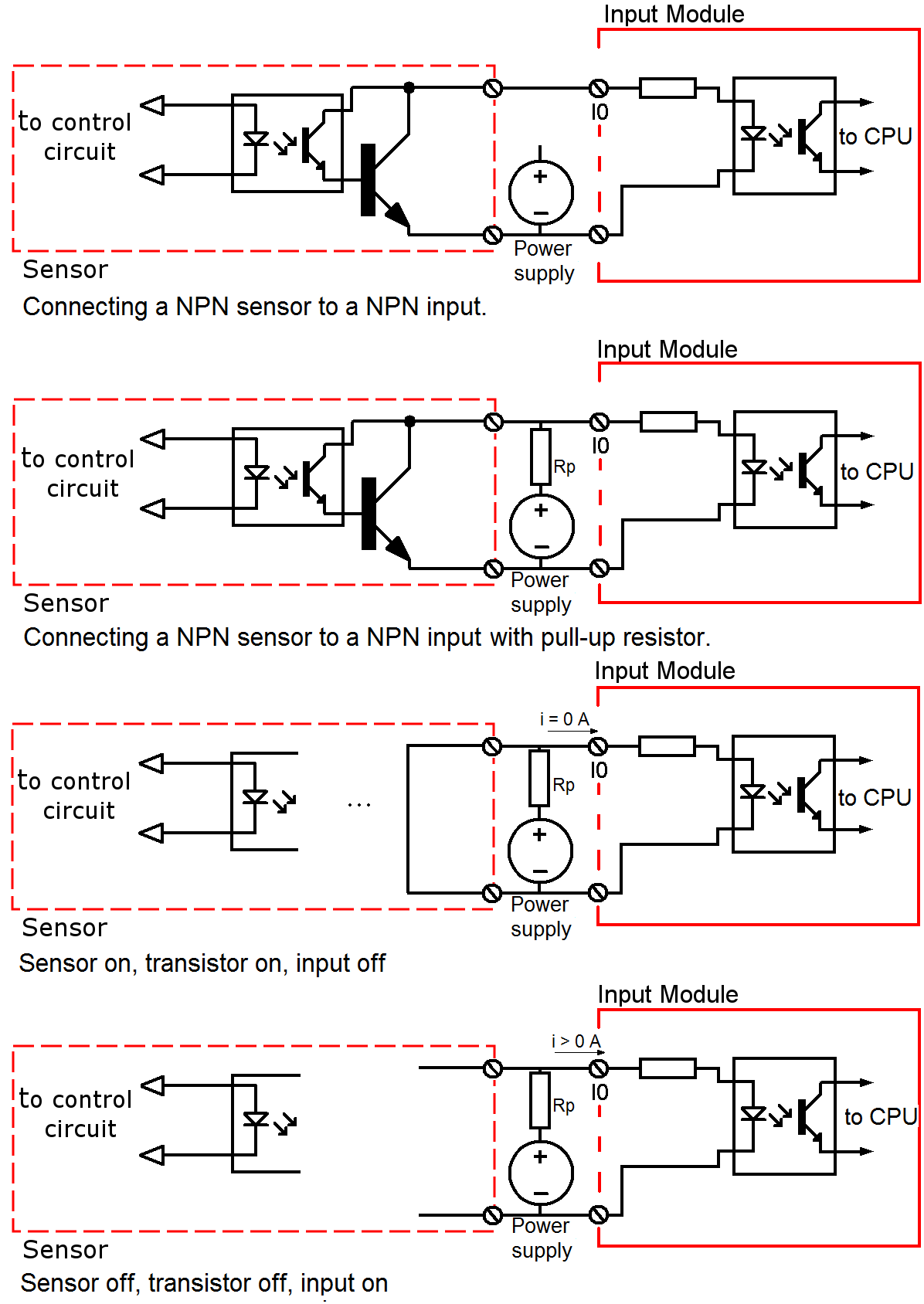 Can I connect a NPN sensor to NPN input? - Control Real English